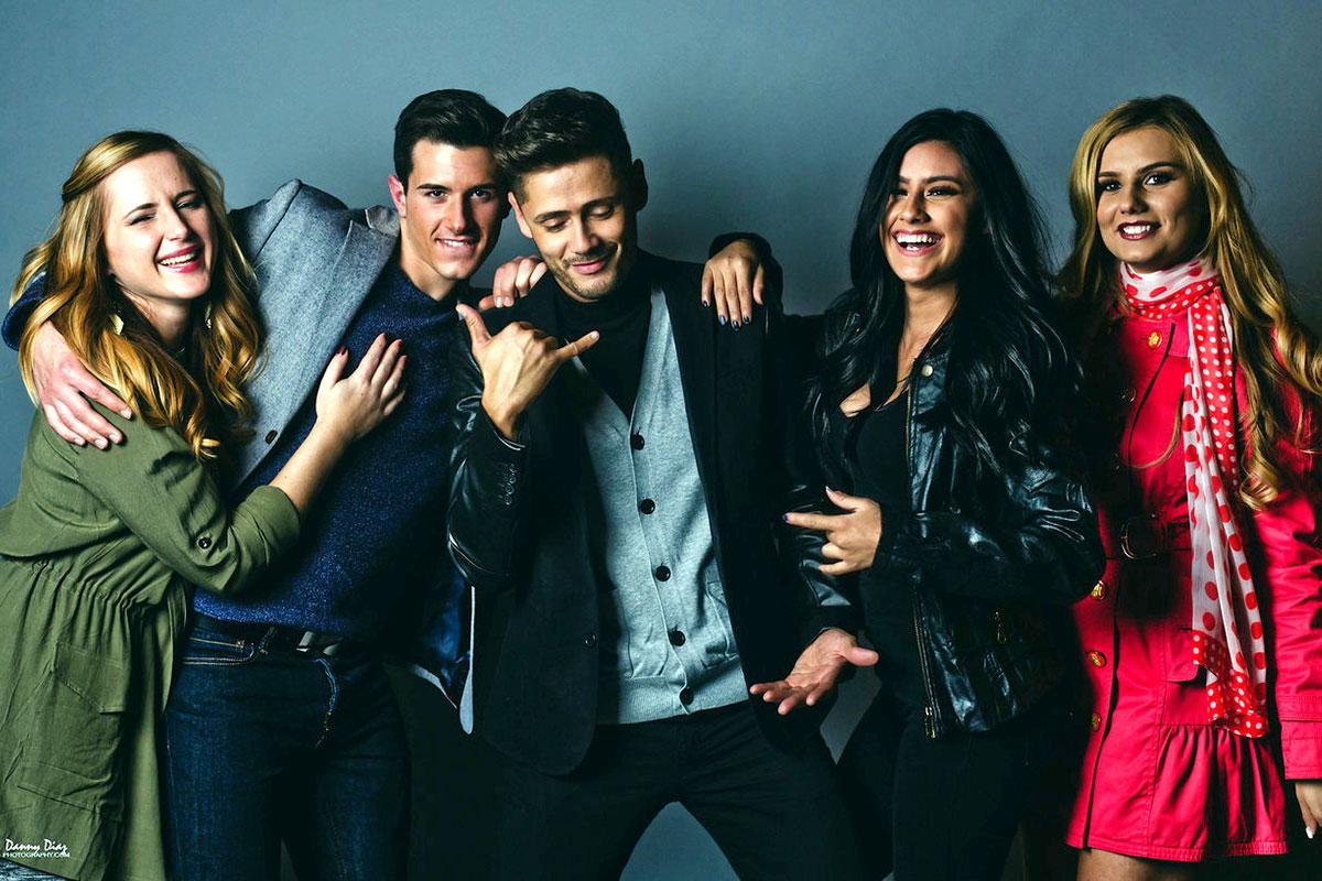 Photo of five models working for ENVE Models