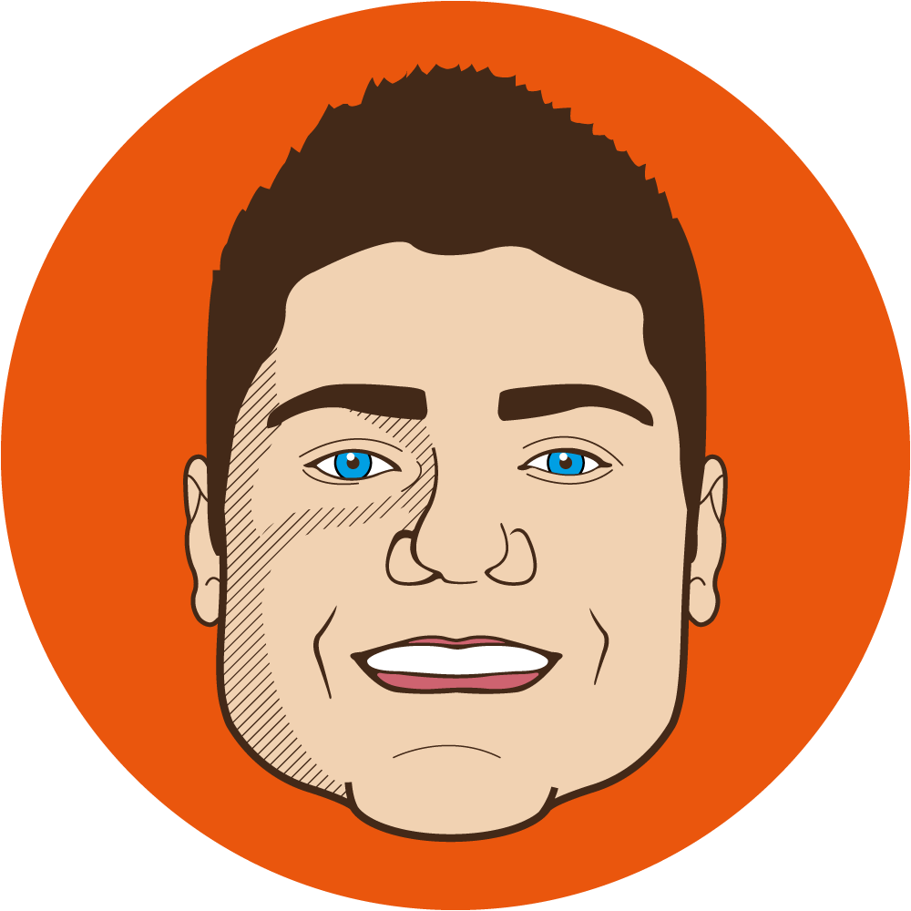 Illustration of Dave Schmidt, Owner of Visual Harvest