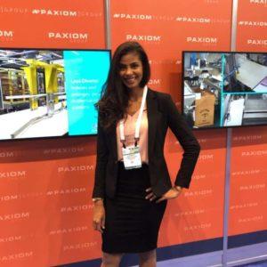 photo of ENVE Model Bete at tradeshow