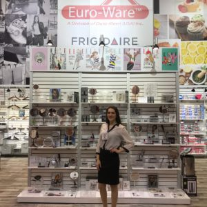photo of ENVE Model Gabriella at Housewares 2019
